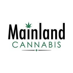 Mainland Cannabis marijuana dispensary menu