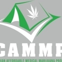 Cammp Canadian marijuana dispensary menu