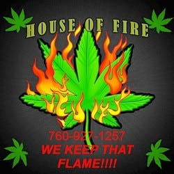 House OF Fire marijuana dispensary menu
