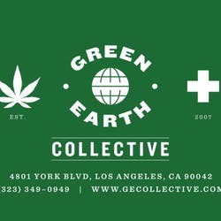 Green Earth Delivery marijuana dispensary menu