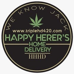 Happy Herers Home Delivery marijuana dispensary menu