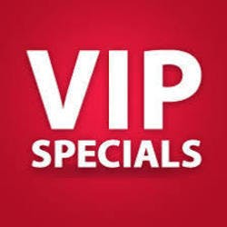 Vip Specials marijuana dispensary menu