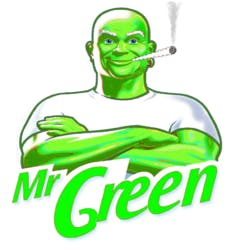 MR Green marijuana dispensary menu