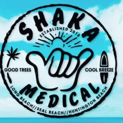Shaka Medical marijuana dispensary menu