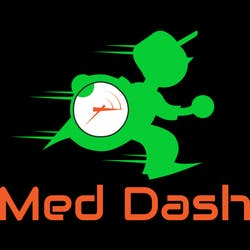 Med Dash marijuana dispensary menu