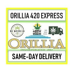 Ontario420Express marijuana dispensary menu