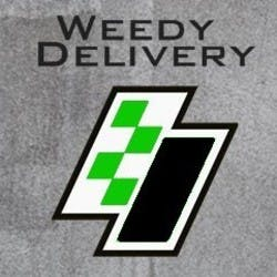 Weedy Delivery marijuana dispensary menu