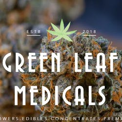 Green Leaf Medicals Medical marijuana dispensary menu
