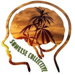 Sunrise Collective marijuana dispensary menu