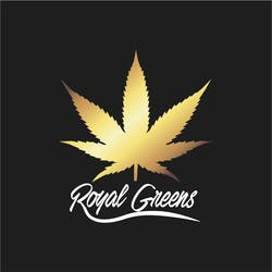 Royal Greens marijuana dispensary menu