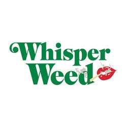 Whisper Weed marijuana dispensary menu