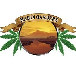 Marin Gardens marijuana dispensary menu