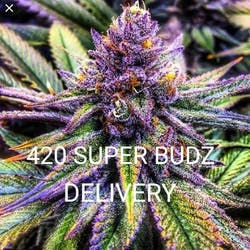 420 Super Budz marijuana dispensary menu