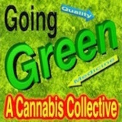 Going Green Collective marijuana dispensary menu