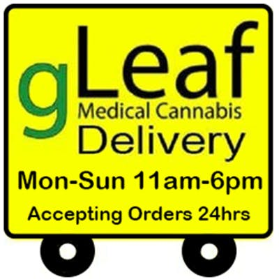 gLeaf Wellness Solutions Delivery (11am - 6pm)