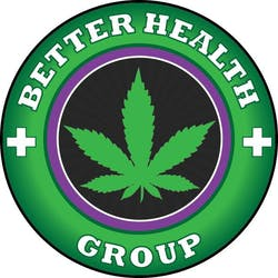 Better Health Group marijuana dispensary menu