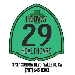 Highway 29 Health Care marijuana dispensary menu