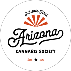 Arizona Cannabis Society marijuana dispensary menu