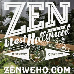 Zen Healing West Hollywood marijuana dispensary menu