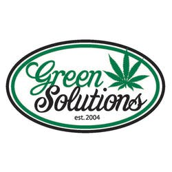 Green Solutions marijuana dispensary menu