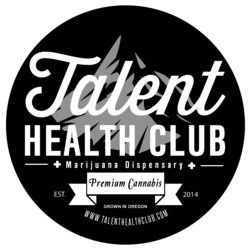 Talent Health Club Recreational marijuana dispensary menu