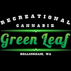 Green Leaf Recreational  Bellingham Recreational marijuana dispensary menu