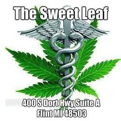 The Sweet Leaf LLC marijuana dispensary menu