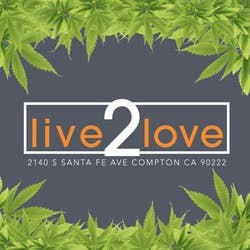 Live 2 Love Collective marijuana dispensary menu