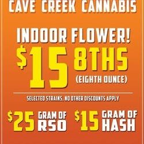 Cannabis marijuana dispensary menu