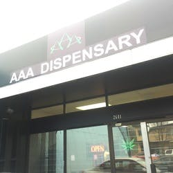 AAA Dispensary marijuana dispensary menu