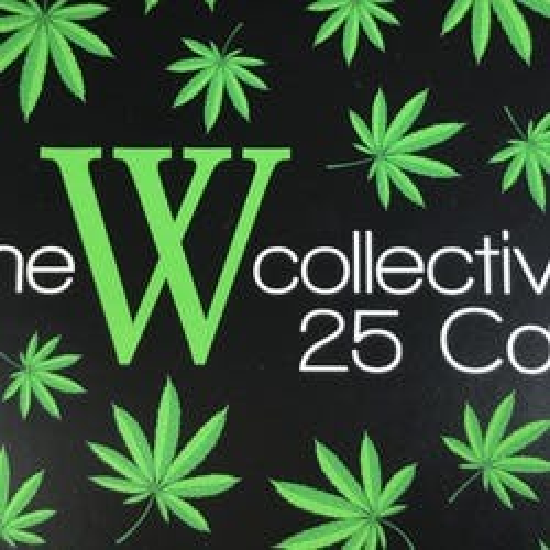 The W 25CAP OF marijuana dispensary menu