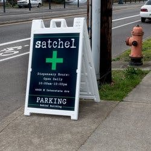 Satchel marijuana dispensary menu