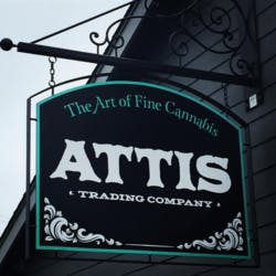 Attis Trading Company marijuana dispensary menu