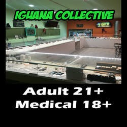 Iguana Collective marijuana dispensary menu