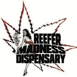 Reefer Madness marijuana dispensary menu