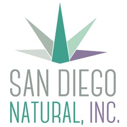 San Diego Natural marijuana dispensary menu