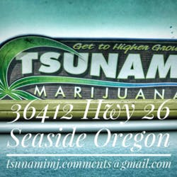 Tsunami Marijuana marijuana dispensary menu
