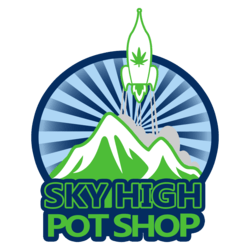 Sky High Pot Shop marijuana dispensary menu