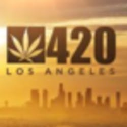 LA 420 marijuana dispensary menu