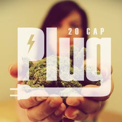 The Plug 20 Cap Collective marijuana dispensary menu