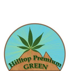 Hilltop Premium Green Recreational marijuana dispensary menu