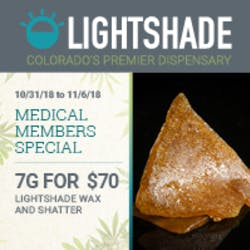 LIghtshade  Dayton Medical marijuana dispensary menu