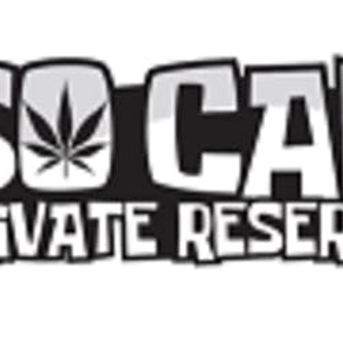 SO CAL PRIVATE RESERVE marijuana dispensary menu