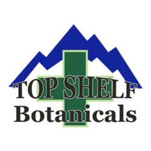 Top Shelf Botanicals marijuana dispensary menu