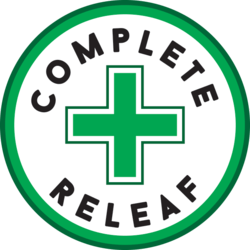 Complete Releaf Recreational marijuana dispensary menu
