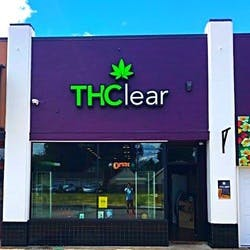 THClear marijuana dispensary menu