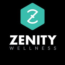 Zenity Wellness marijuana dispensary menu