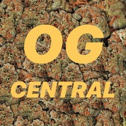 OG Central 20 Cap marijuana dispensary menu