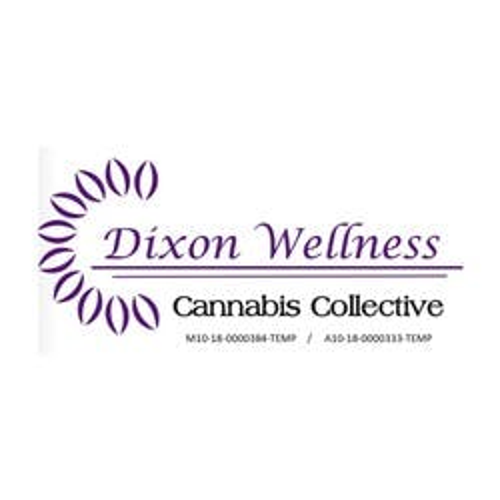 Dixon Wellness Collective marijuana dispensary menu