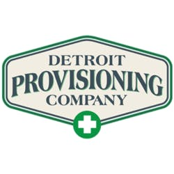 Detroit Provisioning Company Medical marijuana dispensary menu
